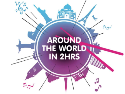 Around the world in 2 hours